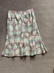 Aquascutum Linen Skirt, Size 12