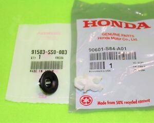 OEM HONDA FIT TSX RDX S2000 Hood Prop Rod Support Holder Clip + Grommet SS0 S84