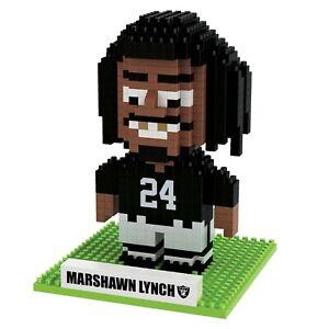 FOCO BRXLZ NFL Las Vegas Raiders #24 Marshawn Lynch 3-D Construction Toy