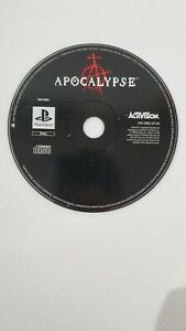 Apocalypse PS1 Game PlayStation Disc Only PAL - Fast Free P&P