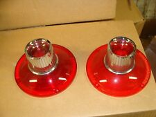 A pair of 1964 Ford Galaxie except 500-500XL tail light lenses  2203  I-5