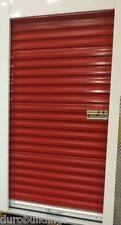 """DuroSTEEL JANUS 3'x6'8"""" Metal Roll-up Door 650 Storage Series & Hardware DiRECT"""