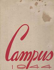 1944 Pasadena Junior College Campus Yearbook Pasadena California