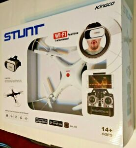 Kingco Stunt Drone WI-FI Real-Time Transmission  2.4GHZ R/C Series 4 Channel...