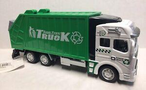 Pull Back 1:48 Scale Garbage Truck w/ Trash Bin