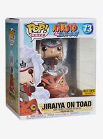 Funko Pop Rides! Jiraiya On Toad #73 Naruto Shippuden Hot Topic Exclusive