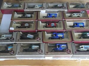 Job Lot of 18 pieces Lledo View Vans, Beach, Harbour & Pier locations and themes