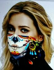 Printed Outdoor,Cycling Multifunctional Neck Scarf, Face Mask. (A)