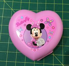 "TUPPERWARE ~ PINK MINNIE MOUSE HEART "" BUTTERFLY "" KEEPER"