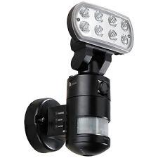 VisorTech Überwachungskamera FLK-20, LED-Flutlicht, Bewegungsmelder, nachlaufend
