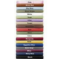 1000 Count 6 pc Sheet Set FULL Size 1000TC 100%Egyptian Cotton Select Color