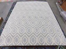 "Grey / Ivory 8' 9"" x 12' slightly damaged rug for reduced price CHT731E-9"