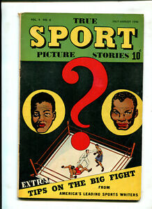 TRUE SPORT: PHOTO STORIES VOL. 4 #8 (6.0)LOUIS VS NALOOT!! 1948