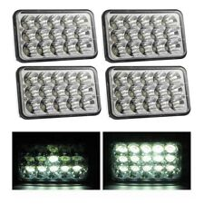 "4Pcs 4x6"" LED Sealed Beam Headlight Hi-Lo Beam Fit for Freightliner FLD120 112"