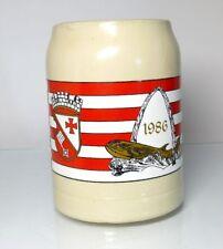 boccale birra boccale tankard BREMA Vegesack 1986
