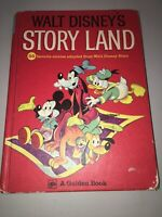 Walt Disney's Story Land (Golden Press, 1962) 72 Stories HC 15th Printing 1975