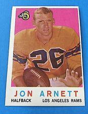 """1959 Topps#170  """"Jon Arnett"""" Halfback Los Angeles Rams Football Card (EX)"""