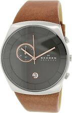 Skagen Men's Havene SKW6085 Brown Leather Quartz Watch