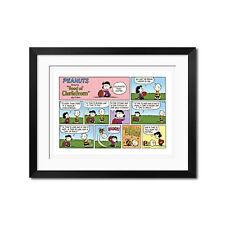 """PEANUTS featuring """"Good ol' Charlie Brown"""" Everything Has a Reason Poster Print"""
