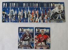 2001-02 Pacific Adrenaline Hockey Power Play Set (1-36) Brodeur Roy