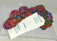 ONE Skein Prism Yarn BIWA Color: Autumn 1oz 68yds USA 100% Rayon Dye Lot #E1120