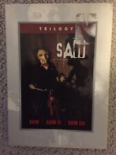 The Saw Trilogy Saw-Saw Ii - Saw Iii) Boxset Used Dvd