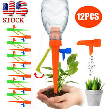 12pcs Garden Plant Automatic Self Watering Spikes Stakes Valve Waterer Device Bo