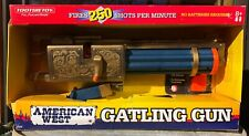 "American West Gatling Gun by Tootsie Toy 18"" long"