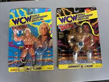 Vintage 1994 Original Toymakers WCW Series 3 Ric Flair Johnny B Badd Sealed
