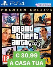 GTA 5 Premium Edition Playstation 4 [GRAND THEFT AUTO V PS4 NUOVO SIGILLATO] top