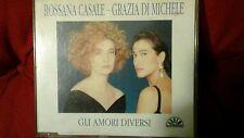 ROSSANA CASALE GRAZIA DI MICHELE - GLI AMORI DIVERSI. CD SINGOLO 1 TRACK