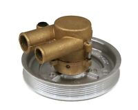 """Complete Raw Water Pump, 1"""" Inlet & 1 1/4"""" Outlet Port for Volvo Penta 3812519"""