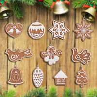 Christmas Balls Baubles Xmas Tree Clay Hanging Ornament Xmas Decoration Gift Toy
