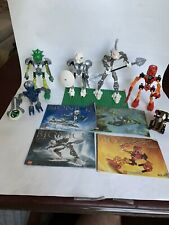 Lot of RETIRED Lego Bionicles ORIGINAL TOA NUVA  MATORAN RAHKSHI