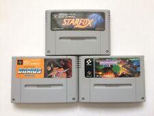 Star Fox Darius Twin Gradius III 3 Super Famicom SFC SNES Japan Free Shipping