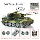 US Stock Henglong 1/16 6.0 King Tiger 3888A RC Tank Metal Wheel Barrel Recoil