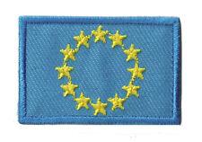 Ecusson thermocollant Europe Union Européenne patch petit 45x30mm