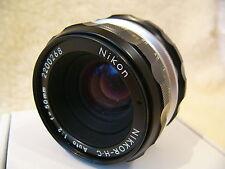 Cámara SLR Nikon Nikkor HC 50mm 1:2 pre-Ai Lente, se adapta a D D3300 D5500 D5300, D5200