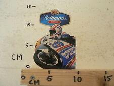 STICKER,DECAL ROTHMANS RACING HONDA NSR HRC NO 2 ? GRAND PRIX MICHAEL DOOHAN ?A