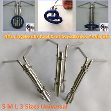 3×Tragbare Auto Hydraulische Zylinder Kolbendichtung Up U-cup Installation Tools