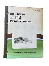 John Deere 24 T Baler Parts Book