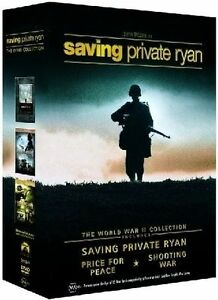 Saving Private Ryan - World War II Collection (DVD, 2004, 4-Disc Set) vgc t155