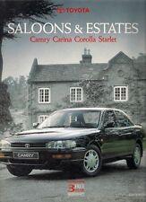 Toyota Starlet Corolla Carina Camry 1992 Edition 1 UK Market Sales Brochure