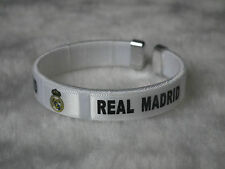 kiTki 65mm Real Madrid football soccer bangle wristband wristlet bracelet torque