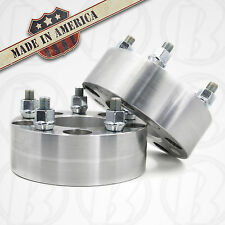 "2 x USA MADE 5x5.5 to 5x4.5 / 5x114.3 Wheel Adapters 2"" Spacers 1/2x20 Studs"
