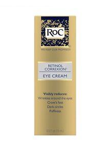 RoC Retinol Correxion Eye Cream. 0.5 Fl Oz. New