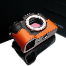 GARIZ Leather Case for Sony A7ii A7RII XS-CHA7IIOR Orange