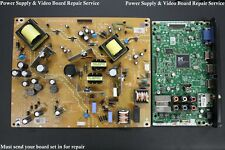 Repair Service for Magnavox 46ME313v/F7 Power Supply & Main Video Board