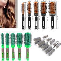 5 Sizes Style Ceramic Iron Round Comb Hair Dressing Brush Salon Styling Barrel*