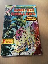 Giant Size Chillers 3. Marvel 1975 - FN +